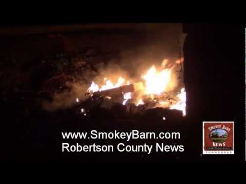 Two Strange Fires Wednesday Evening In Springfield Tennessee