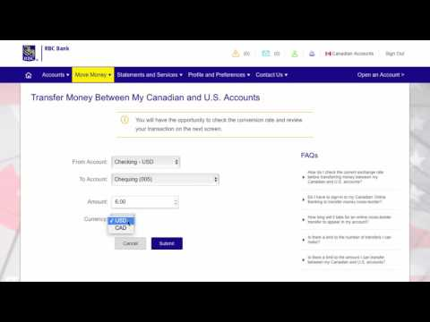 How to transfer money cross-border with RBC