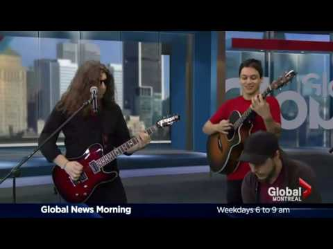 THE FEEDBACKERS LIVE on Global Montreal!