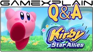 Kirby Star Allies Q&A: 30 of YOUR Questions Answered!