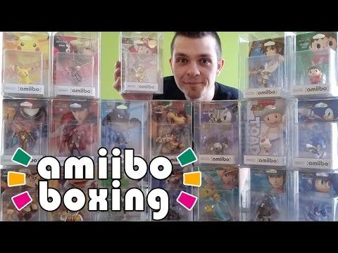 Amiibo Collector's Case Boxing + Amiibo Hunting Tips & Tricks!
