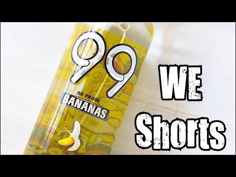WE Shorts - 99 Bananas Liqueur