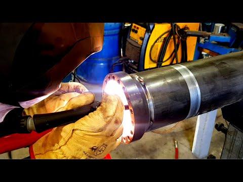 Machining U0026 Welding Road Milling Machine Hydraulic Cylinder Barrel | TIG U0026 MIG