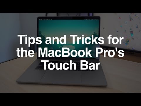 Tips and Tricks for the MacBook Pro's Touch Bar