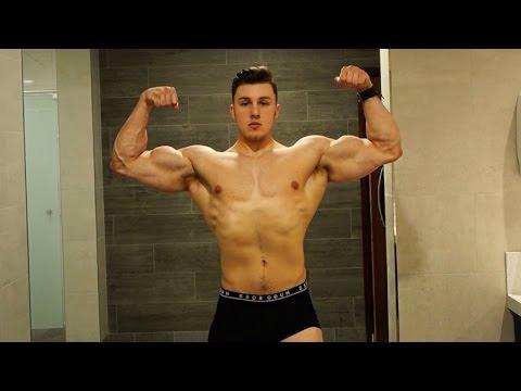 Brandon Harding Physique Update Teen Bodybuilding