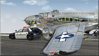 BeamNG Plane Crashes #5