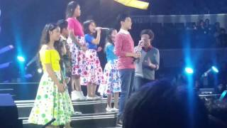 The Voice Kids Season 1 Finalists at ABS-CBN Christmas Special 2015
