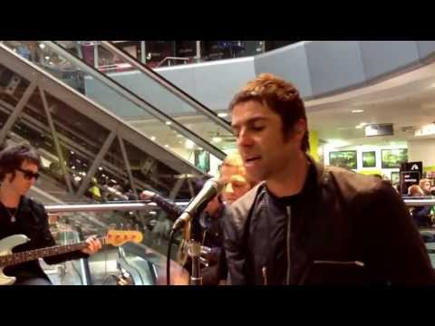 Beady eye cry baby cry live at Hmv Glasgow