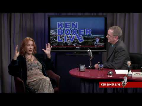 """Ken Boxer Live,"" Pamela des Barres, 1960's-Era Rock Star Groupie and Writer"