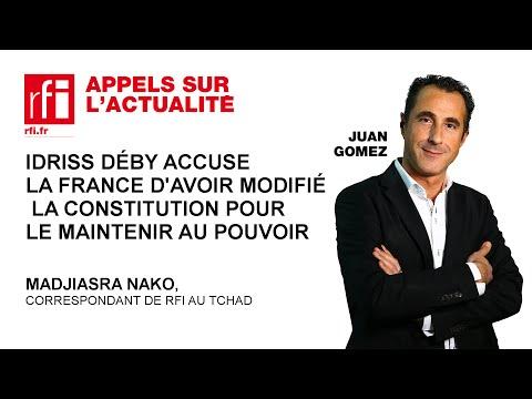 Idriss Déby accuse la France d'avoir modifié la Constitution pour le maintenir au pouvoir
