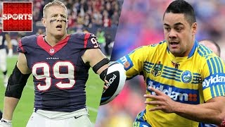 Football vs. Rugby: Which Tackle Is Stronger? [Rugby World Cup Predictions!]