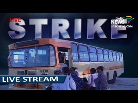 Media briefing on bus strike