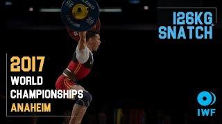 Kim Tuan Thach | 126kg Snatch