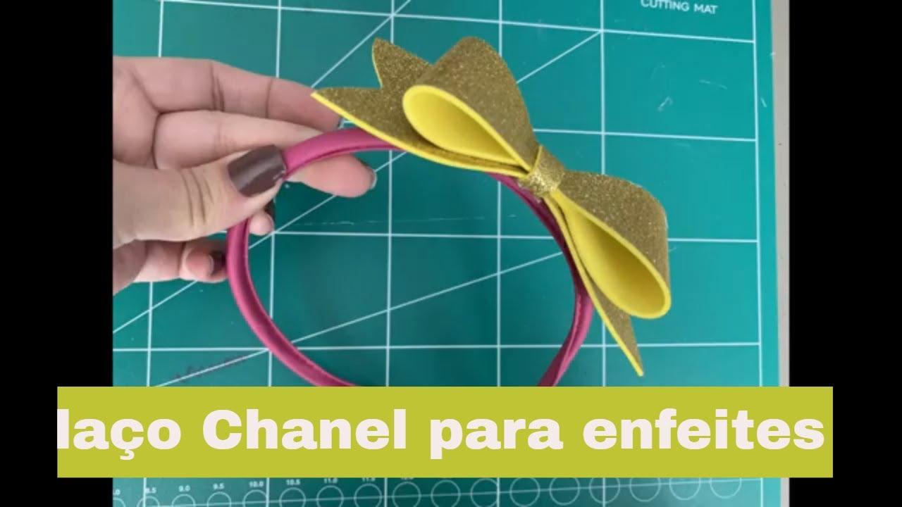 Laco Chanel Em Eva Enfeites E Lembrancinhas Guia Tudo Festa