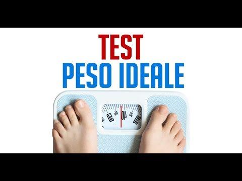 Calcola il tuo peso ideale