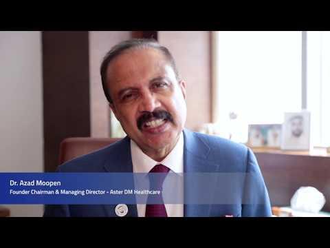 Dr Azad Moopen - Nurses day 2018