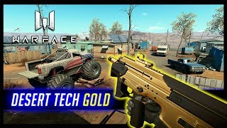 WARFACE Desert Tech GOLD MUITO BOA BoA 検索動画 24
