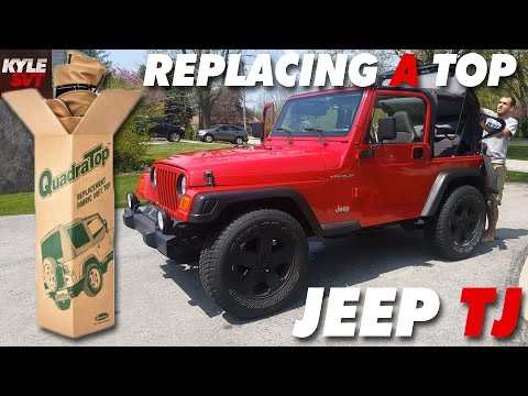 How to Replace Soft Top on a Jeep Wrangler TJ (97-06)