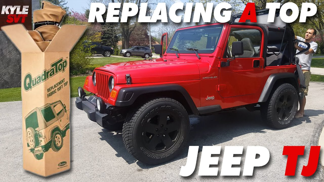Nice How To Replace Soft Top On A Jeep Wrangler TJ (97 06)