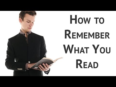 3 Simple Steps to Remember What You Read
