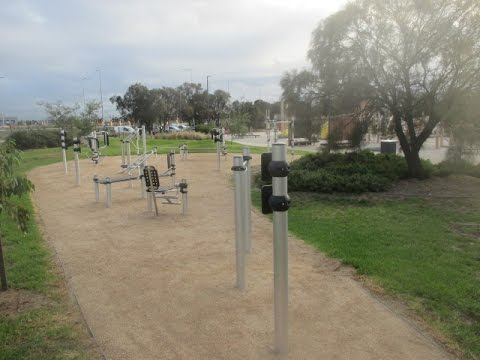 Sandridge Beach Outdoor Gym (Port Melbourne)