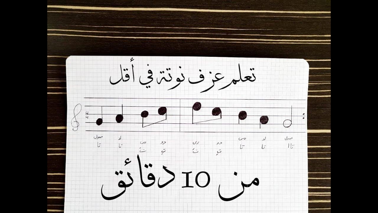 تعلم عزف اي نوتة موسيقية في اقل من 10 دقائق Musik Video Youtube