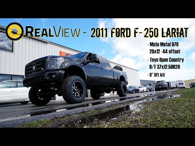 RealView - Lifted 2011 Ford F-250 w/ 20 Moto Metal 970s & 37 Toyo Open Country R/Ts