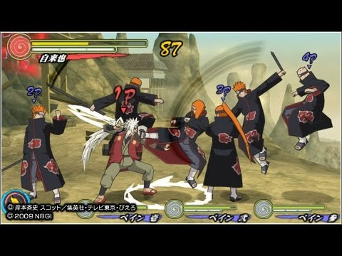 10 Minutes sur Naruto Shippuden Ultimate Ninja Heroes 3 [HD] [GAMEPLAY] [PSP]