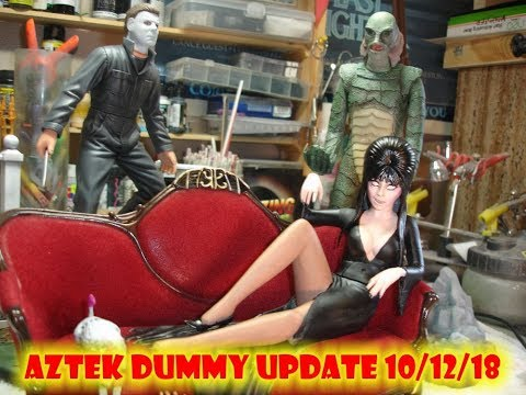 Aztek Dummy Update 10/12/18 - Shock-tober part 2