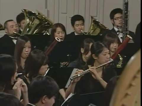 The Ensemble Liberte Wind Orchestra: La danse du Phenix-impression de Kyoto (Part I)