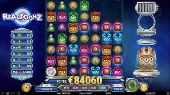Player wins €84060 on Reactoonz at ComeOn Casino!