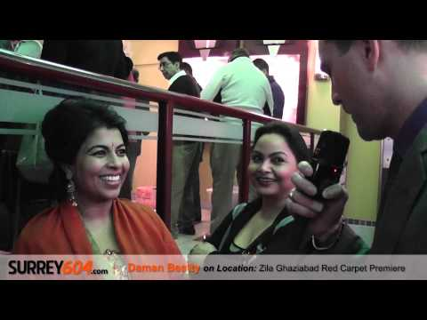 Zila Ghaziabad Red Carpet Premiere at Collingwood, Vancouver's Bollywood Cinema