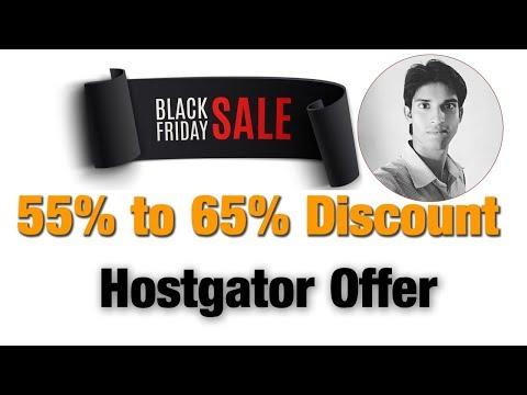 Bumper Discount on Black Friday Offer – Web hosting Hostgator Offer