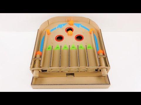 How to make PLINKO Board Game from Cardboard