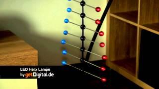 LED Lampe Spiral-Helix - getdigital.de