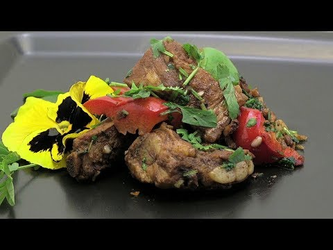 Chinese Braised Cumin Spareribs (Asian Style Cooking Recipe)