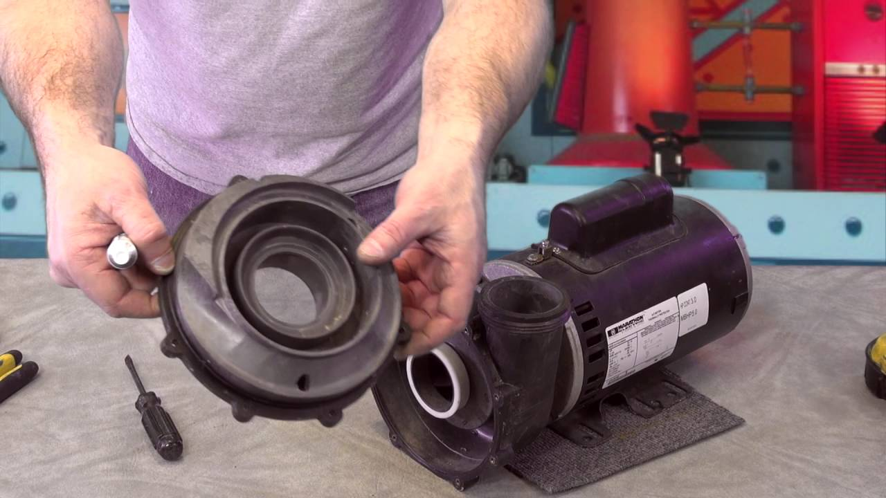 Aqua-Flo 200 seal and Impeller How To Hot Tub Pump How To Spa Guy on
