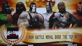 Bane vs Juggernaut vs Godzilla vs Kratos vs Master Chief vs Zangief (Season 5 Episode 8)