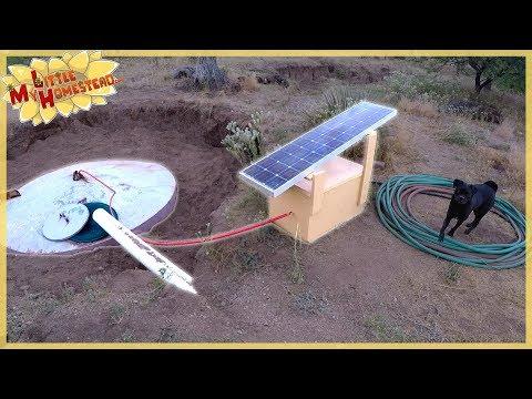 Solar Rainwater Tank Pump, Paper Bag Floor Update & Engine Out  | Weekly Peek Ep184
