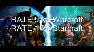 Warcraft Vs Starcraft