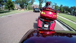 Narrowly avoided direct collision on the Goldwing