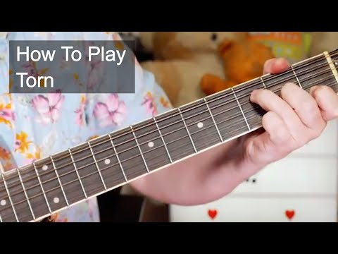 'Torn' Natalie Imbruglia Acoustic Guitar Lesson