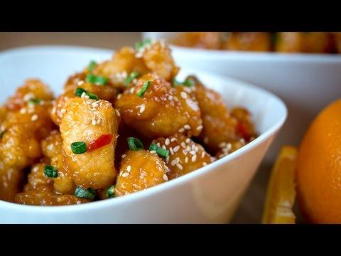 Vídeo-receta: auténtico pollo a la naranja   Sabor de Asia