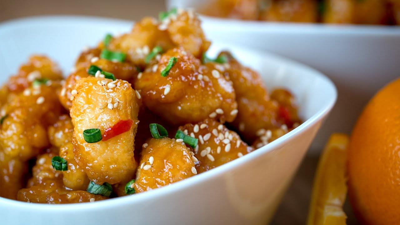 Pollo a la naranja orange chicken recipe l kwan homsai youtube forumfinder Image collections