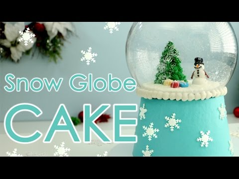 🎄 DON'T SHAKE... It's a Snow Globe CAKE! ⛄