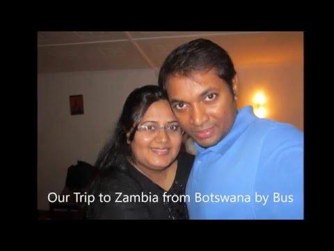 Bus Trip from Gaborone to Lusaka to Ndola - Vlog