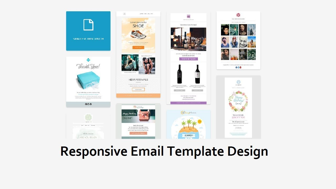 How To Create A HTML Email Template Responsive Email Template - Build responsive email template
