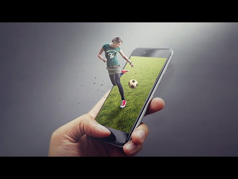 Pop Out Effect Photoshop Tutorial