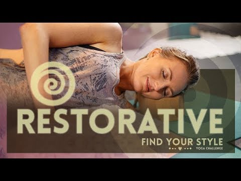Restorative Yoga: 30 Minutes of Deep Relaxation | Great for Beginners - Full Class
