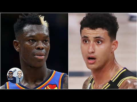 'Kyle Kuzma just became expendable' - David Jacoby on Dennis Schroder to the Lakers | Jalen & Jacoby